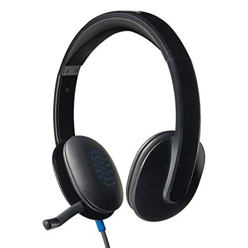 ロジクール ヘッドセット パソコン用 H540r ステレオ USB接続 ノイズキャンセリングマイク搭載 国内正規品 3年間メーカー保証