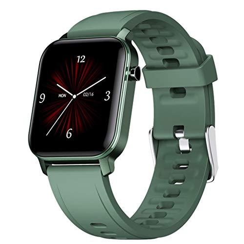 APCHY Smart Watch,1.4 Pulgadas Touch Fitness Fitness Pulsera Llamada Pedómetro De Ritmo Cardíaco IP68 Deportes Impermeables Guitness Gotsnesswatches De Temperatura Corporal,Frecuencia Cardíaca,D