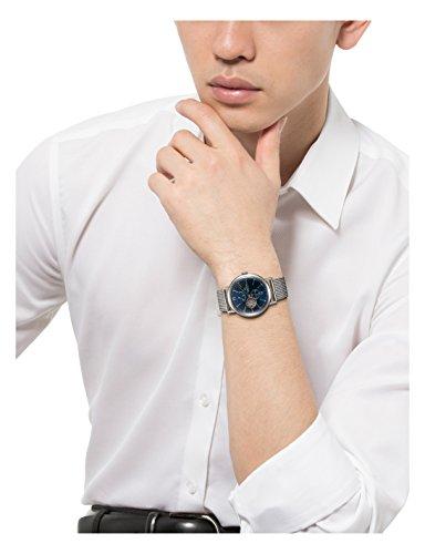 [オリエント時計]腕時計オリエントスタークラシック機械式自動巻(手巻付)WZ0151DKシルバー