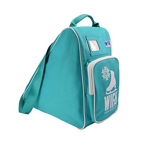 WIFA Eislauftasche Schlittschuhtasche für Kinder und Erwachsene (Petrol)