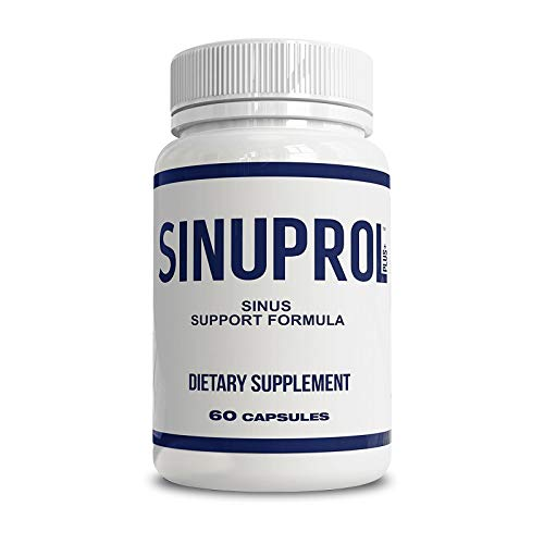 Nexus Formulas SINUPROL - Natural Sinus Relief Formula for Seasonal Discomfort and Post Nasal Drip - Bromelain Quercetin Complex Herbal Supplement for Healthy Histamine Levels