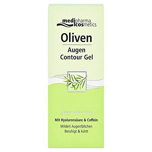 Medipharma Cosmetics, 05109799 Oliven Augen Contour Gel, farblos, 15 milliliter