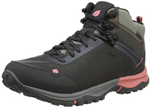 Lafuma Access Clim Mid W, Walking Shoe Mujer, Carbon, 37 1/3 EU