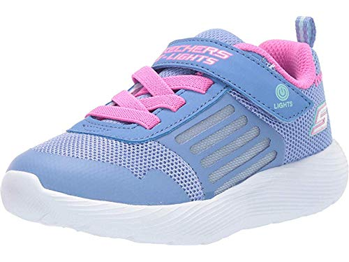 Skechers Girls Dyna-Lights Sporty Light Up Trainers Shoes