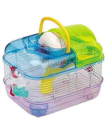 Suinga Hamster-Käfig bunt mit Noria und Rutsche