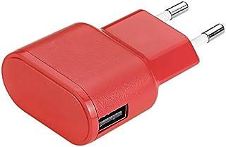 aiino Apple Wall Charger USB-strömförsörjning laddare uttag 1 USB-port 1 A – röd