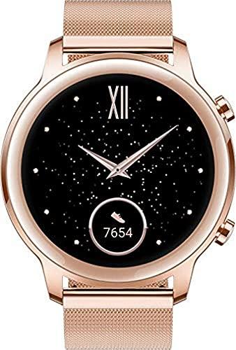 HONOR Magic Watch 2 Smartwatch Reloj Inteligente Hombre Mujer Fitness Tracker Monitor de Frecuencia Cardíaca Spo2 Estrés Smart Watch GPS Bluetooth 5ATM, 7 Días de Batería para Android, Dorado 42MM