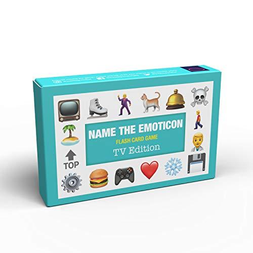 Nome del gioco di carte Emoticon-TV