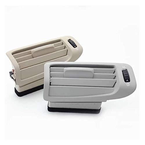 Beige Grau Fit for Skoda Hervorragend B-Säule A/C Heater Klimatisierungskanal Belüftungsabdeckung Grill Outlet Protective Outlet (Color Name : Beige Right)