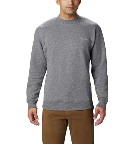Columbia Men's Hart II Sweatshirt, Charcoal Heather, Large
