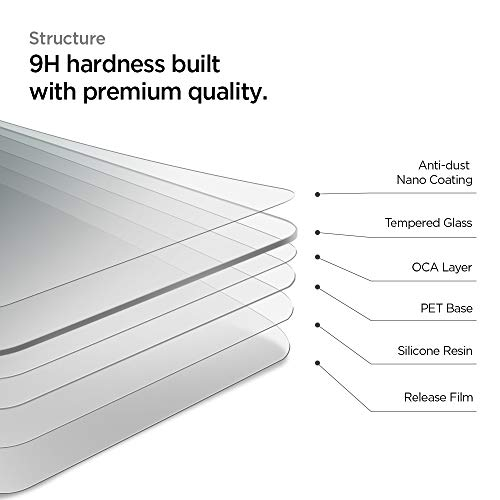 Review for Spigen Tempered Glass Screen Protector Designed ...