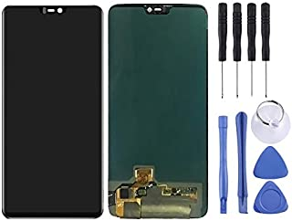 SHUHAN LCD Screen Phone Repair Part LCD Screen and Digitizer Full Assembly for OnePlus 6 Mobile Phone Accessory