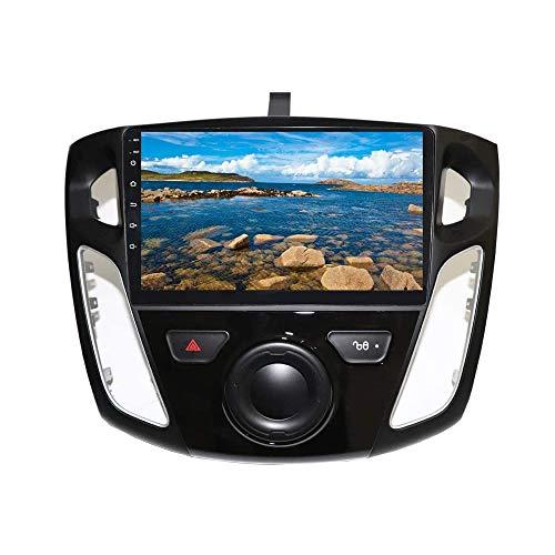 XISEDO Android 9.0 Autoradio 9' In-dash Car Radio 4-Core RAM 2G ROM 32G Car Stereo per Ford Focus (2012-2015) Supporto Control Del Volante, Bluetooth (32G)