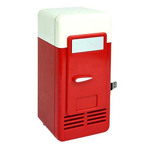 Monland USB Kühlschrank Kalter Tropfen Shpping Gefrierschrank USB Kühlschrank Kleine Tragbare Soda Kühlschrank Für Auto Rot