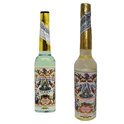 Pack de Agua de Florida Original Peru Amarilla 270 ml y Murray & Lanman Agua Florida Colonia - 221 ml