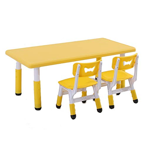 CHAXIA Chaise De Table Enfant Ensemble Bébé Apprentissage Table De Jeu Détendu en Mouvement Utilisation Multifonctionnelle, 4 Couleurs (Color : Green)
