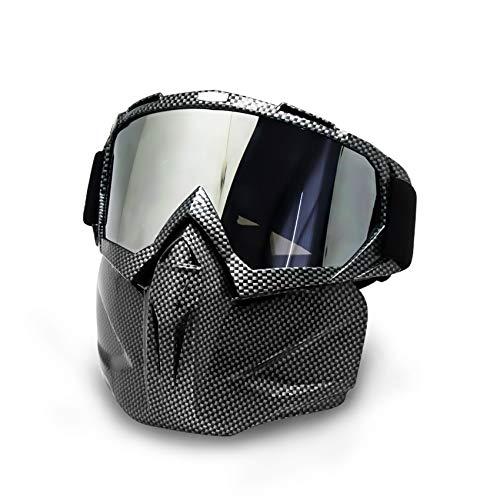 Máscara de Motocicleta...