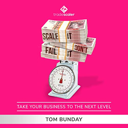 Scale It, Don't Fail It: Take Your Business to the Next Level audiobook cover art