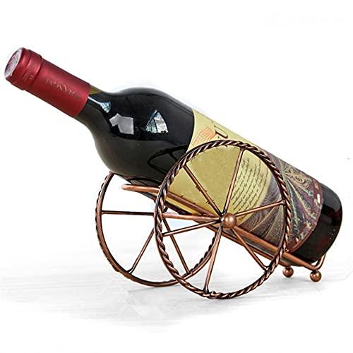 JKKJ Estante de vino, soporte para botella con ruedas, soporte de metal para almacenamiento de vino independiente, soporte de exhibición para decoración de bodas, equipos de decoración del hogar