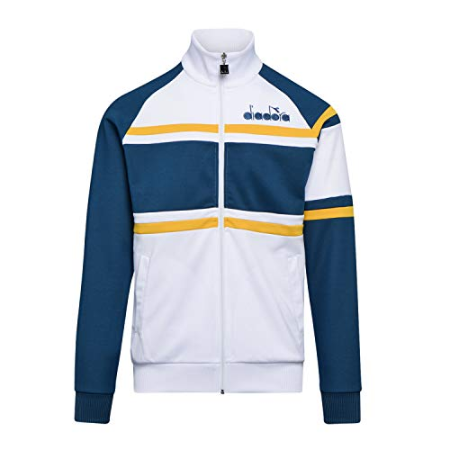 Diadora - Chaqueta Jacket 80S para Hombre (EU L)