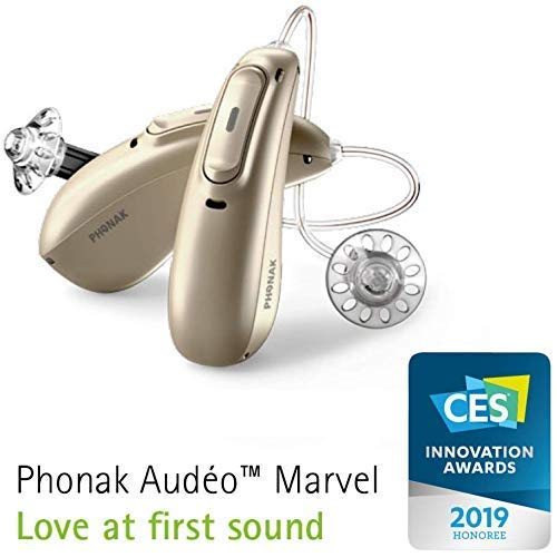 FCS Audeo Marvel M50-R Bluetooth Enabled RIC (Left & Right with Mini Charger) (Audiometry Report Required- Strictly Non-Returnable)