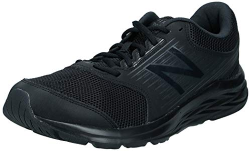 New Balance 411, Herren Laufschuhe, Black (Triple Black), 42 EU (8 UK)