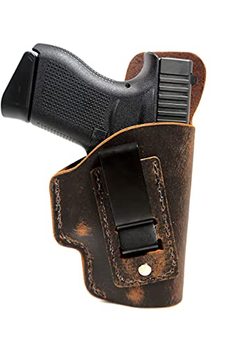 Inside The Waistband Leather Holster - Made in USA -...