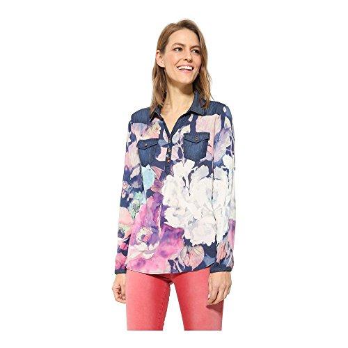 Desigual Floral - Bluse, Größe_Bekleidung:XXL;Desigual_Farbe:navy