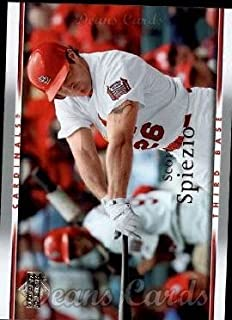 2007 Upper Deck # 959 Scott Spiezio St. Louis Cardinals (Baseball Card) Dean's Cards 8 - NM/MT Cardinals
