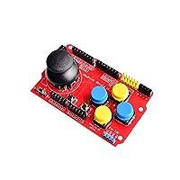 Treedix ジョイスティックシールド 拡張ボード JoyStickシールド Arduino用の キーボードとマウスの機能をシミュレート