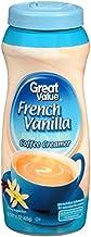 Great Value French Vanilla Coffee Creamer, 15 oz