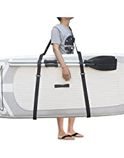 Primlisa Paddleboard Carry Strap SUP Surfboard Carry Strap Sling Surfboard Schouderband, Verstelbare Gewatteerde Zachte Surfing Board Carry Strap Kayak Draagriem Verstelbare Nylon Carry Sling