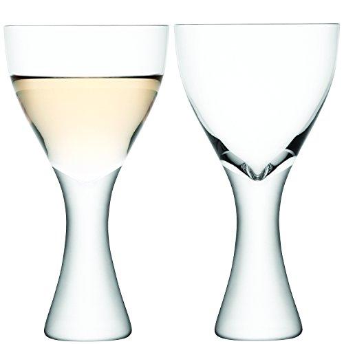 LSA International 300 ml Elina Copa de Vino, Transparente