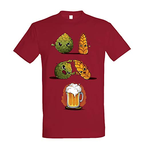 Pampling Beer Fusion - Cerveza, Camiseta Hombre