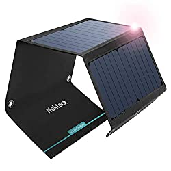 best camping solar charger Nekteck 21W