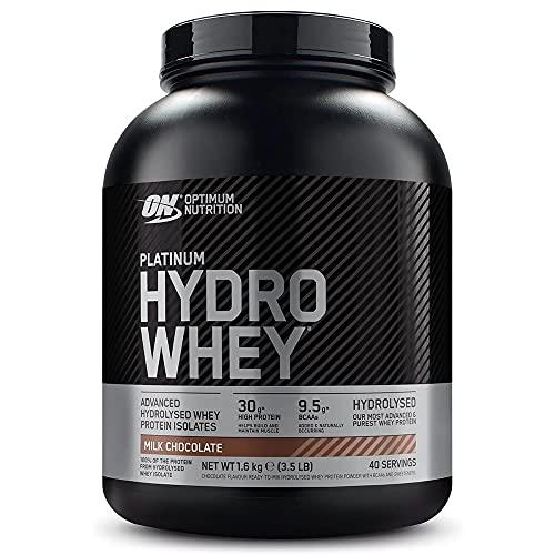 Optimum Nutrition Hydro Whey, Proteinas Whey en Polvo, Proteina de Suero para Masa Muscular y...