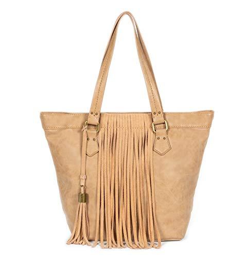 Dolce Vita Women's Vegan Suede Leather Callum Tote Handbag Laptop Bag