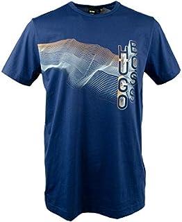 Hugo Boss Men's Tee 3 Hb Multicolor Artwork T-Shirt