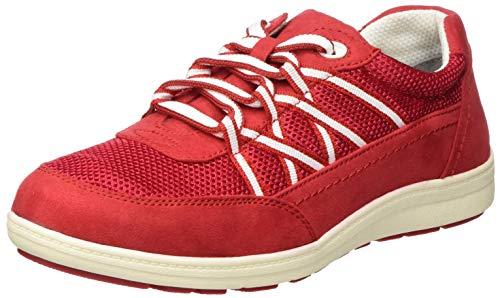 Jana Softline Damen 8-8-23660-24 Sneaker, Rot (Red 500), 38 EU