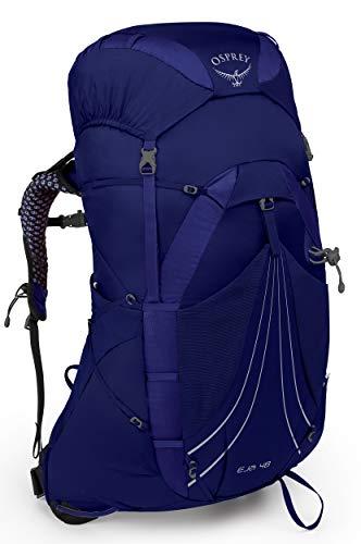 Osprey Eja 48 leichter Trekkingrucksack für Frauen - Equinox Blue (WS)