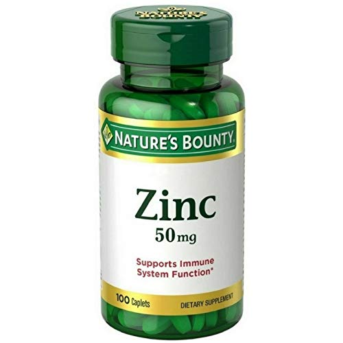 Nature's Bounty Zinc Caplets