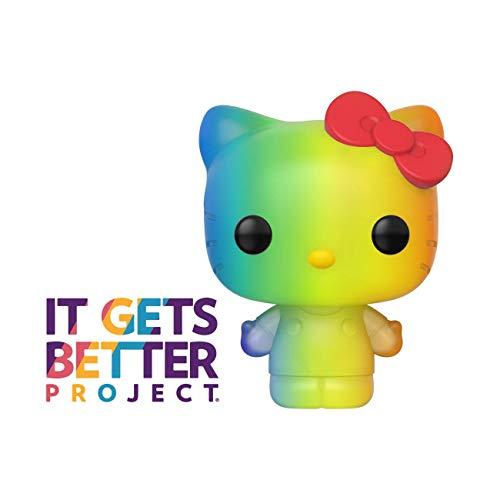 Funko 49843 POP Sanrio 2020-Hello Pride 2020 Hello Kitty (RNBW) Verzamelbaar speelgoed, meerdere kleuren