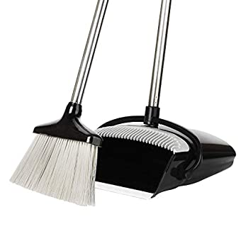 Extendable Broom and Dustpan Set