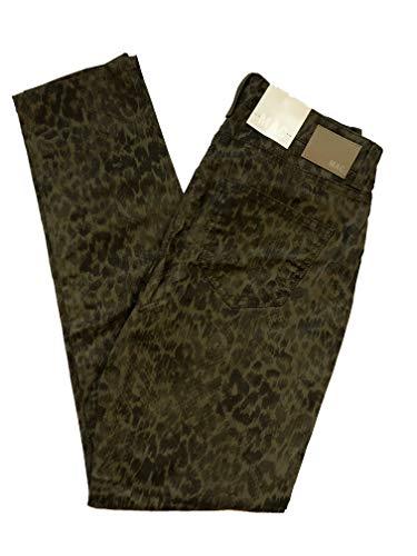 MAC Damen Jeans Carrie Pipe Triple Zip 676B AU178 D40/L32