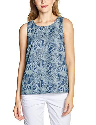 CECIL Damen 341458 Bluse per pack Mehrfarbig (printed flower used wash 20536), X-Large (Herstellergröße:XL)