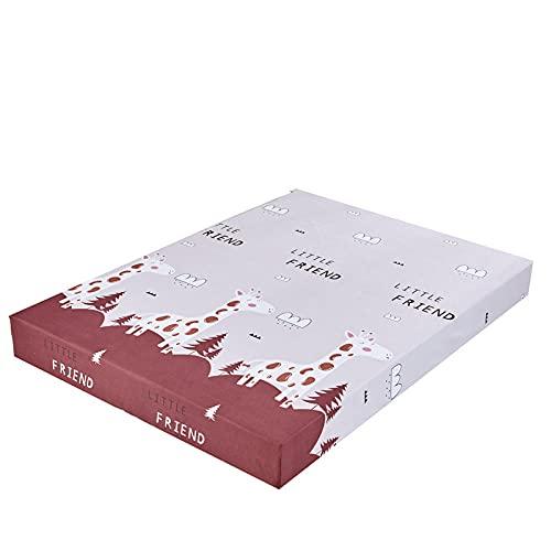 DSman Protector de colchón Acolchado - Microfibra - Transpirable Impresión de sábanas y Lijado Paquete Completo-3_150X200 + 25cm