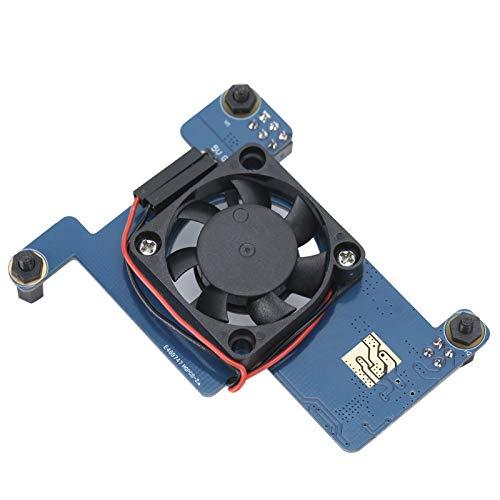 ASHATA Für Raspberry 4B / 3B + Ethernet POE-Lüfter-Stromversorgungsmodul, Mini Power Over Ethernet-Erweiterungskarte für Raspberry Pi 4B / 3B + und Rackmount