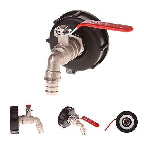 TOOLSTAR - Adaptador de IBC, para depósito de 1000 litros,