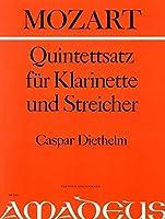 MOZART - Quinteto (K. 91) en Sib Mayor para Clarinete, 2 Violines, Viola y Violoncello (Diethelm)
