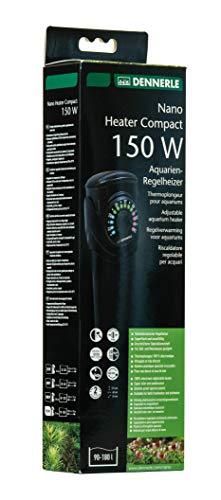 Dennerle 5691 Nano Heater Compact 150 Watt | Regel-Heizer für Aquarien von 90-180 Liter